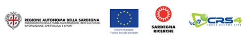 loghi Assessorato Pubblica Istruzione, Sardegna Ricerce, CRS4
